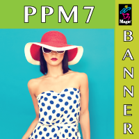 MagicLee (Intelicoat) PPM7 Polypropylene banner