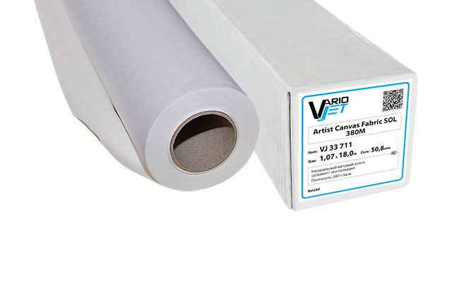 VarioJet Artist Canvas Fabric SOL 380M